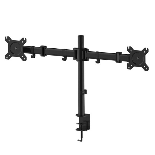 Dual Monitor Mount Desk Stand For LCD LED Computer Displays Two  Articulating Arms   United Mounts