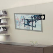 Heavy Duty Articulating Dual Arm TV Wall Mount