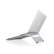 Aluminum laptop stand